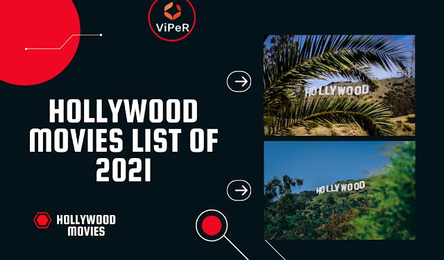 Hollywood movies List of 2021