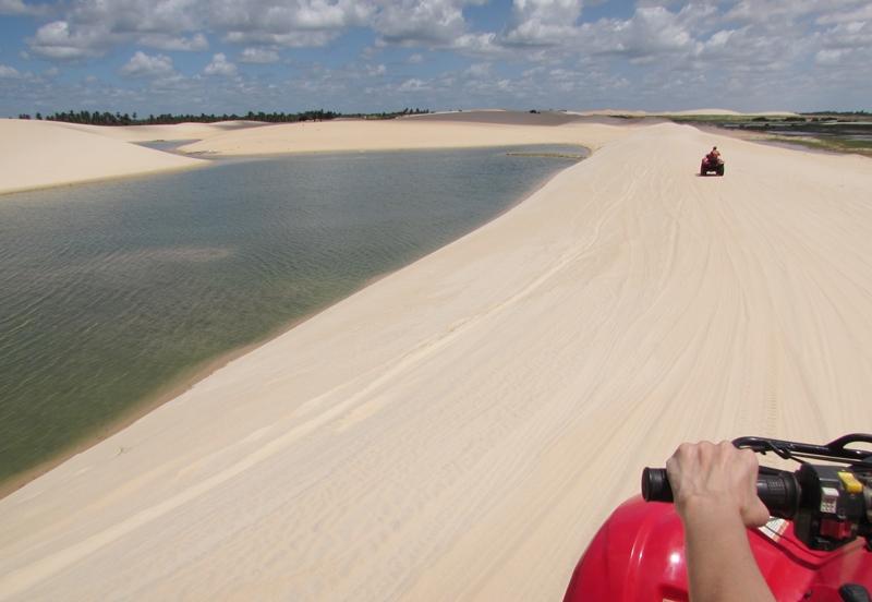 O que fazer em Jericoacoara: Passeio Oeste - Tatajuba e Mangue Seco