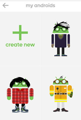 Androidify | Buat Ikon Android mu Sendiri