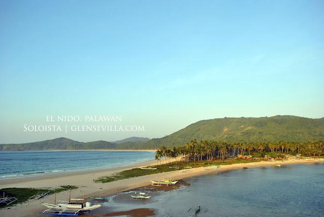 Nacpan and Calitang Beach El Nido Palawan