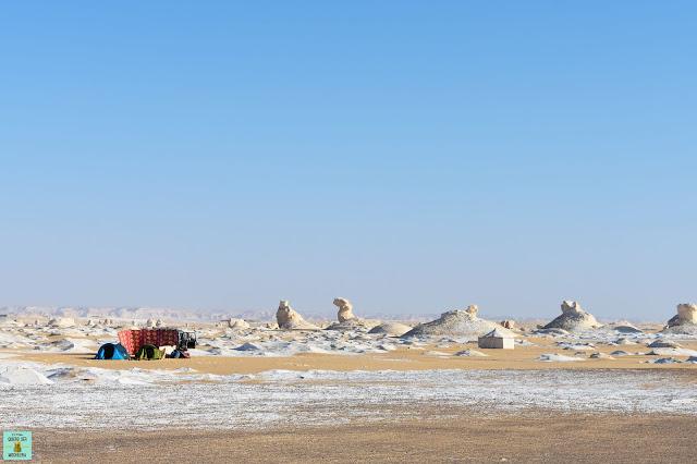 Visitar el Desierto Blanco de Egipto