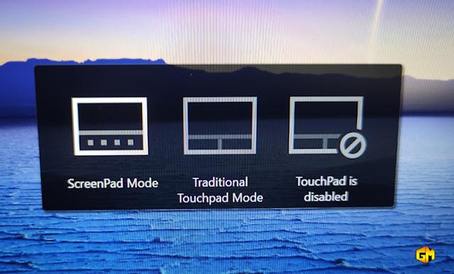 Asus ZenBook 14 ScreenPad Mode Gizmo Manila