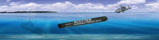 Rafael Scutter Expandable Torpedo Decoy