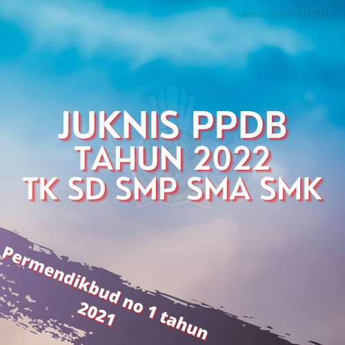 gambar juknis ppdb 2022