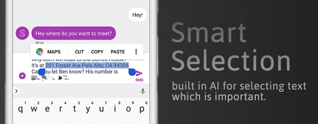 Built in AI for Selecting text that matters