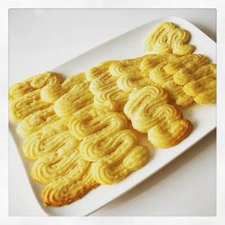 Spritz les biscuits de notre enfance ( Recette de Pierre Hermé)