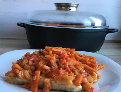 Ryba z warzywami po grecku