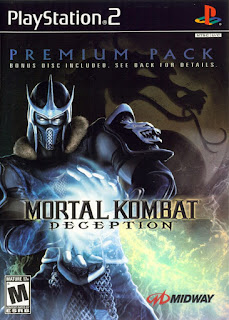 Mortal Kombat Deception Premium Pack Bonus Disc PS2 ISO Download