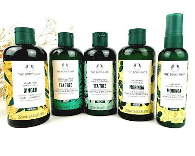 The Body Shop -  productos para el pelo