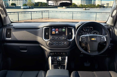 Interior Dashboard Chevrolet Trailblazer Facelift