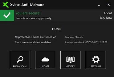 بنامج حماية جهاز الكمبيوتر الخاص بك من برامج التجسس والفيروسات Xvirus