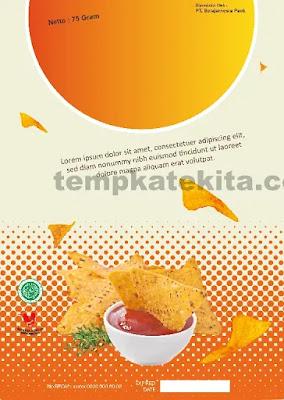 Download Desain Kemasan Makanan Ringan CorelDraw Dan Phtoshop Gratis
