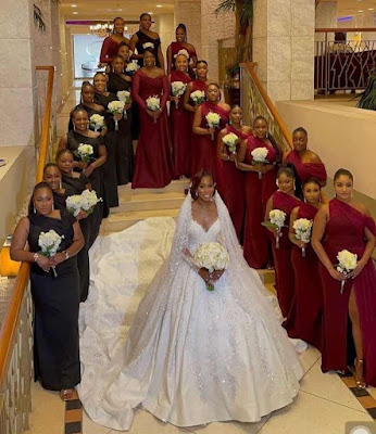 Debola and Kehinde wedding photos