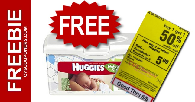 CVS Huggies Baby Wipes Freebie Deal