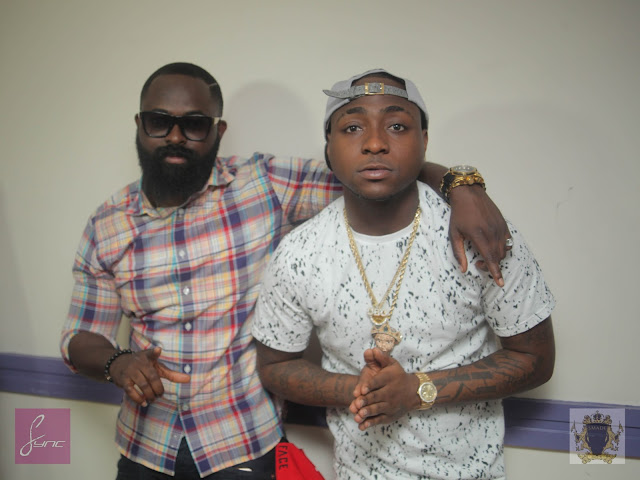 Davido in London for OBO UK Tour