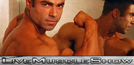 Top Male Bodybuilder Live Show