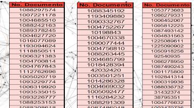 LISTADO POSIBLES BENEFICIARIOS - APOYOS DE ALIMENTACION TEMPORAL II - 2021