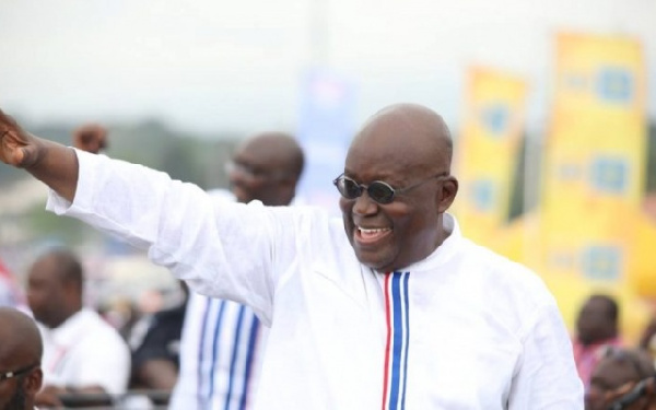 Akufo-Addo wins 2020 Presidential Elections