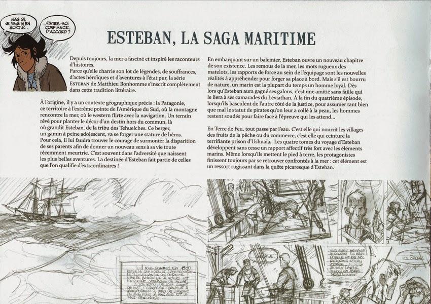 Esteban de Matthieu Bonhomme dossier de presse