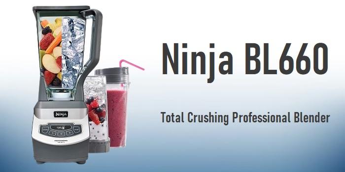 Ninja BL660 - Total Crushing Professional Blender