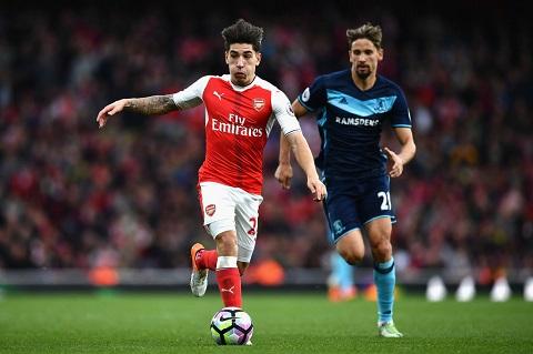Arsenal sẽ phải thiếu vắng Xhaka trong 4 trận