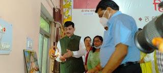मुख्यमंत्री श्री चौहान द्वारा खंडवा जिले से प्रधानमंत्री आवास योजना (शहरी) के हितग्राहियों को लाभ वितरण