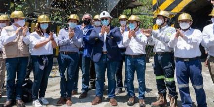 Se inaugura en Colombia el complejo Buriticá, la mina de oro más grande del país