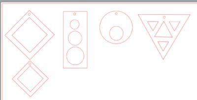 Silhouette Studio - skapa egna designs av geometriska former