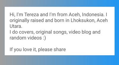 Deskripsi Channel Youtube Cover Lagu Terkenal