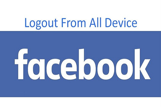 Log Off Facebook on all devices