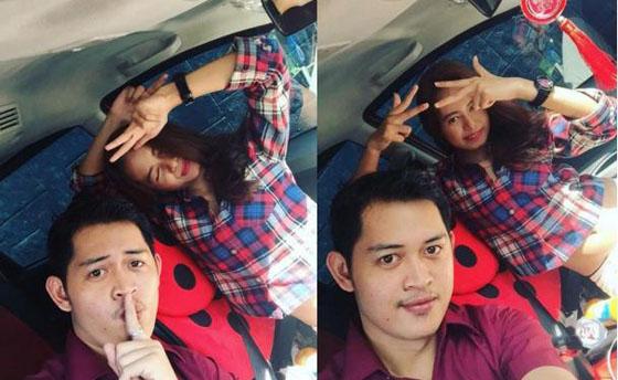 Foto Buka Aurat' Putri Elly Sugigi Didepan Ferry Anggara