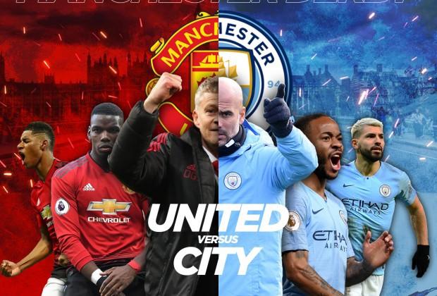 مشاهدة مباراة مانشسر سيتي ومانشستر يونايتد بث مباشر اليوم 29-1-2020 في كأس الرابطة الانجليزية