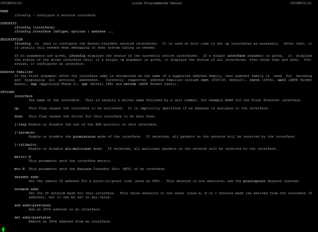 Network Interface Configuration (ifconfig) in Linux : Simple