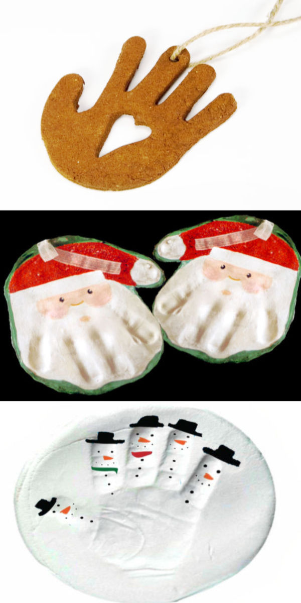 Homemade ornament crafts and activities including recipes for clay, salt dough, and play dough. #gingerbreadrecipe #gingerbreadman #gingerbreadcrafts #gingerbreadclay #gingerbreadplaydough #gingerbreaddecorations #gingerbreadornaments #christmascrafts #ornamentsdiychristmas #growingajeweledrose #activitiesforkids
