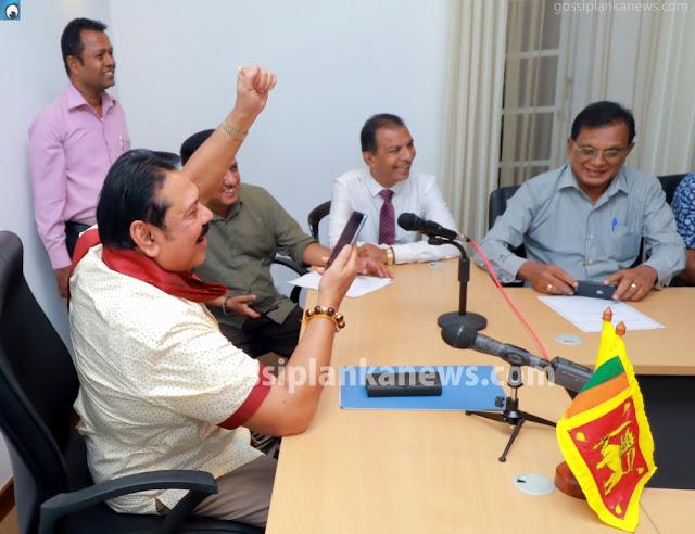 Mahinda Elated After Hearing Gota's Court Verdict (photos
