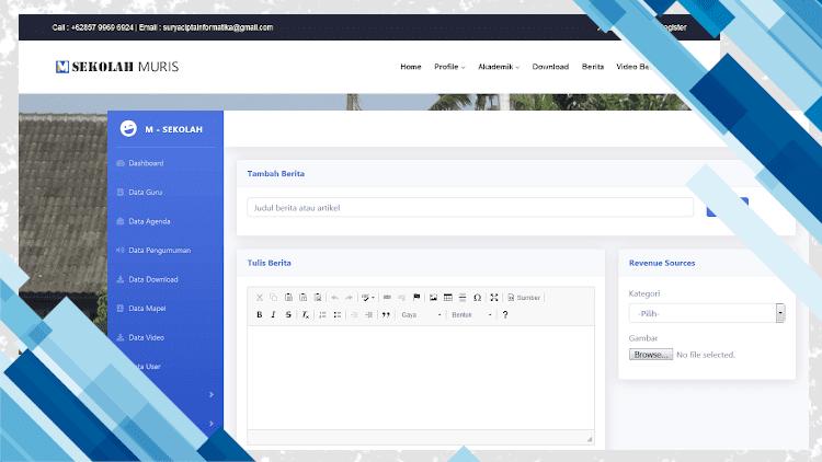 Program Web Profil Sekolah