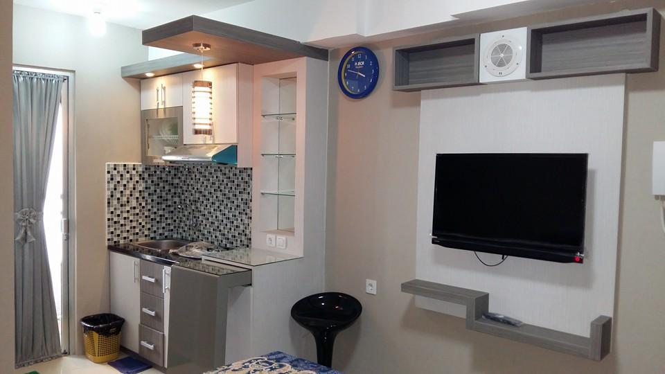 Contoh Interior Apartemen Tipe Studio Bassura City