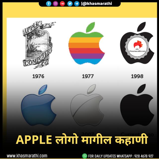 काय apple चा पहिला लोगो म्हणजे न्यूटन का फोटो ?वाचा लोगोची कहाणी
