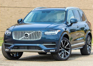 Review of Volvo XC90 2019: Front Exterior