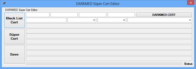 Süper Cert Tool DARKMED ~ DARKMED ELECTRONICS