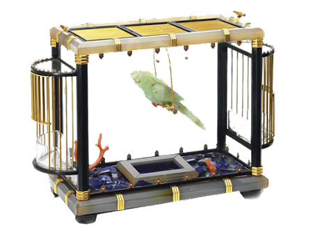 Maharaja's Golden Cage for his Pet Frog