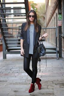 5 ideas favorables para vestir leggings