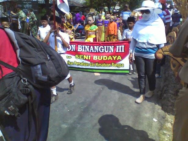 Foto SDN Binangun 3 Pada Karnaval Kecamatan Singgahan 2014