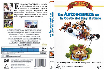 Carátula dvd: Un astronauta en la corte del Rey Arturo