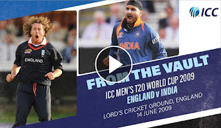 England vs India 20th Match ICC World T20 2009 Highlights