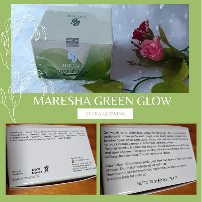 kemasan luar maresha green glow