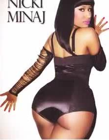 10 Famous People Caught With Fake Behinds, Nicki Minaj