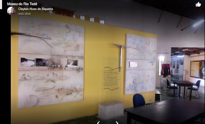 O museu: O Rio Tietê é um dos símbolos mais fortes do Estado de São Paulo