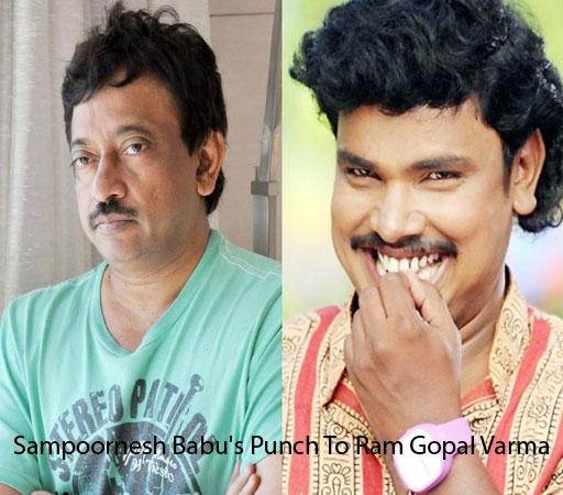 Sampoornesh Babu's Punch To Ram Gopal Varma