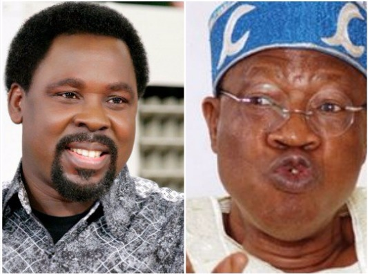 Federal Government Begs TB Joshua Not To Relocate to Israel